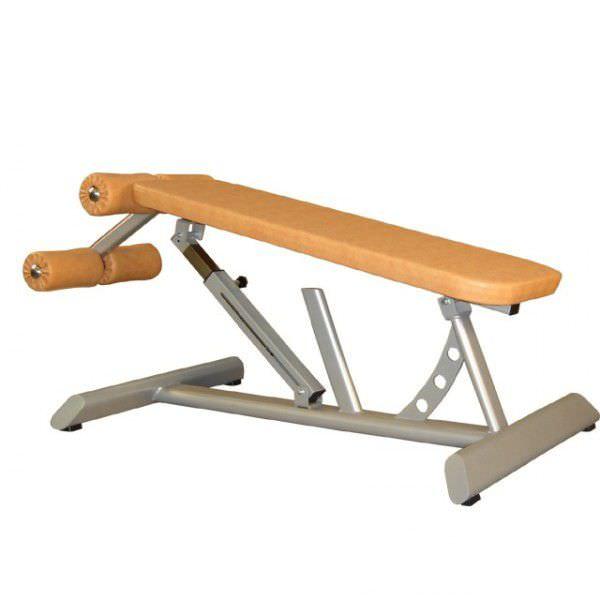 Abdominal crunch bench (weight training) / abdominal crunch / traditional / adjustable BC23 Multiform?