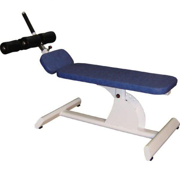 Abdominal crunch bench (weight training) / abdominal crunch / traditional / adjustable BC12 Multiform?