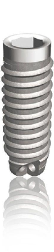 Cylindrical dental implant / titanium / internal octagon PERIOSAVE Classic TBR GROUP SUDIMPLANT SA