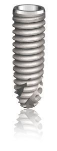 Cylindrical conical dental implant / titanium / tapered / self-tapping PERIOSAVE M TBR GROUP SUDIMPLANT SA