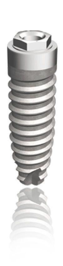 Conical dental implant / titanium / external hexagon PERIOSAVE Hex-Conic TBR GROUP SUDIMPLANT SA