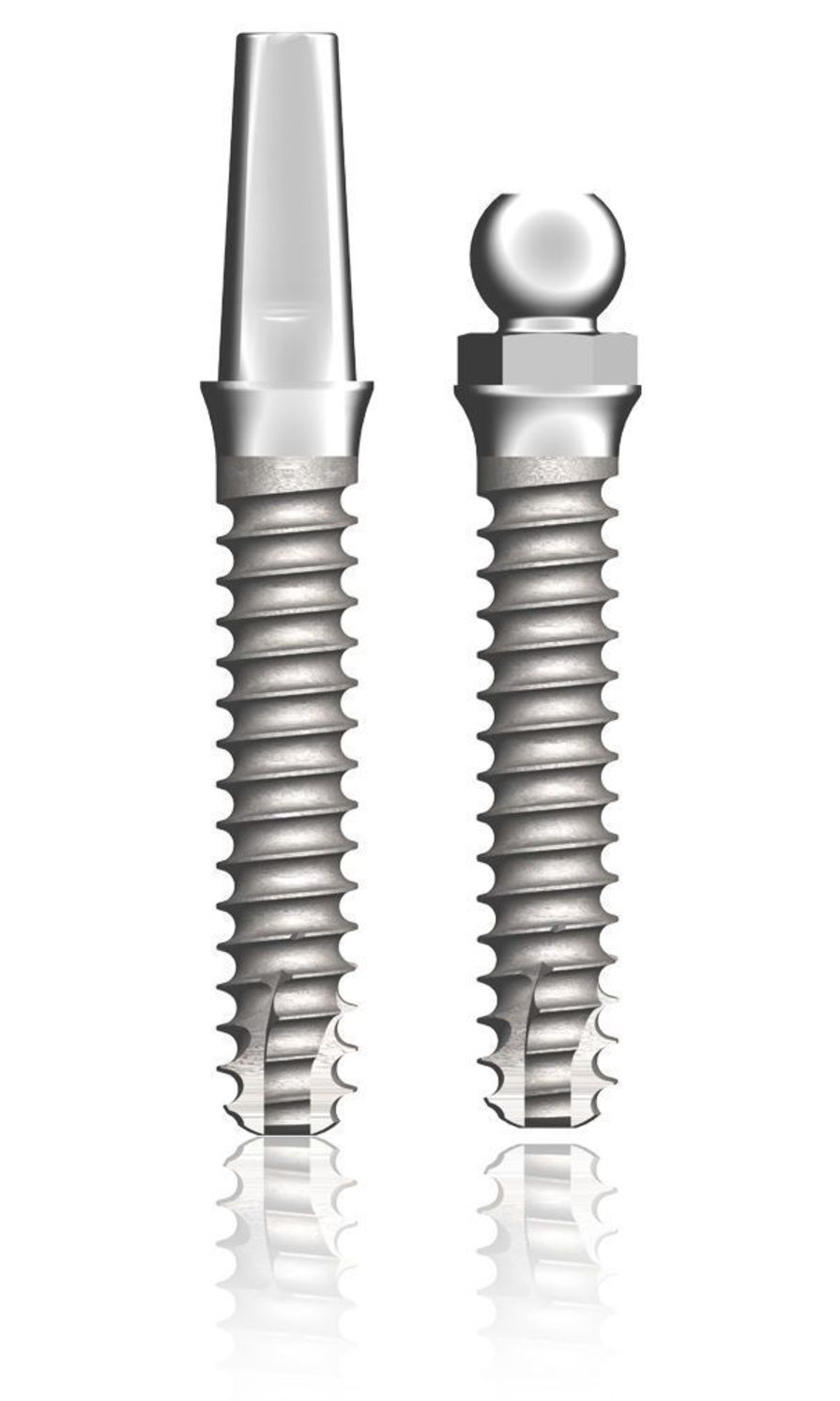 Cylindrical dental implant / titanium / self-tapping PERIOSAVE Slim 2.5 TBR GROUP SUDIMPLANT SA