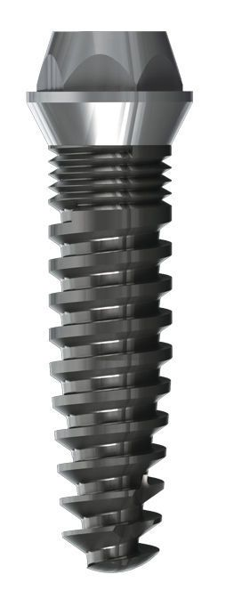 Cylindrical dental implant / external hexagon / rough Specific 2.9 Drive Dental Implants