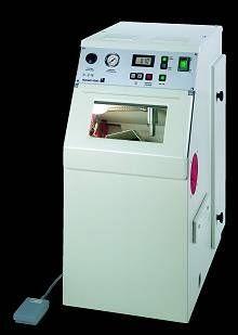 Automatic dental laboratory sandblaster D-G 16 S Harnisch + Rieth