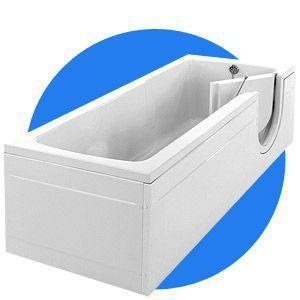 Medical bathtub with side access 218 L | Cotswold Gainsborough Baths