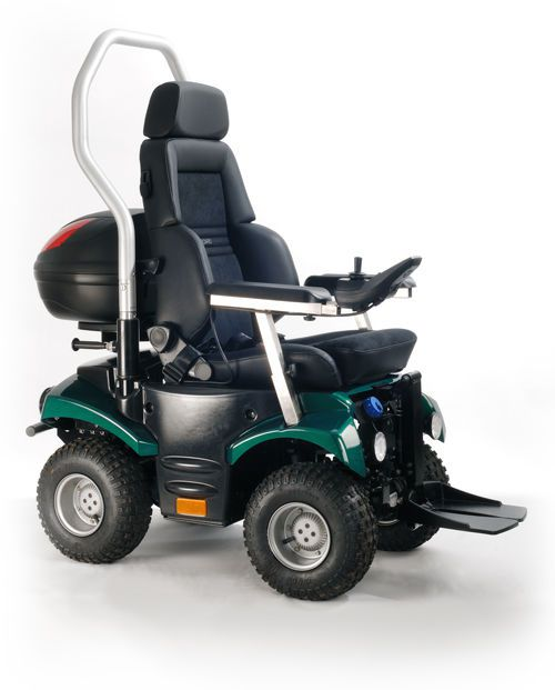 Electric wheelchair / exterior / 4x4 P4 Country 4poWer4