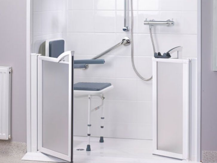 Modular shower / medical / with shower seat Assisted Gainsborough Baths