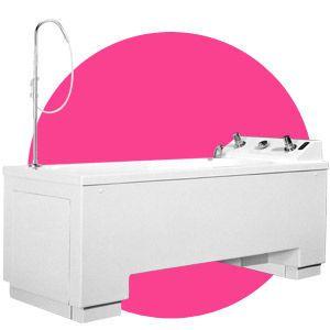 Electrical medical bathtub / height-adjustable Henley Gainsborough Baths