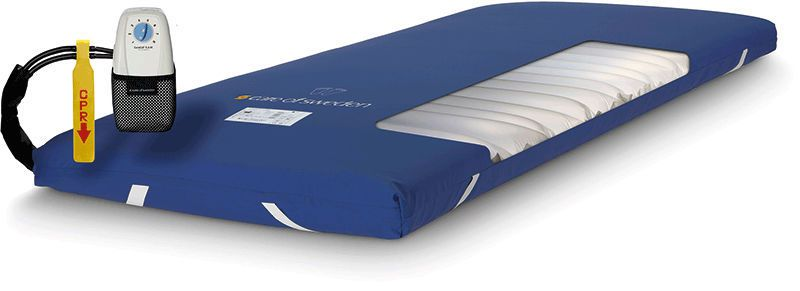 Anti-decubitus mattress / for hospital beds / static air / dynamic air CuroCell S.A.M.® Care of Sweden