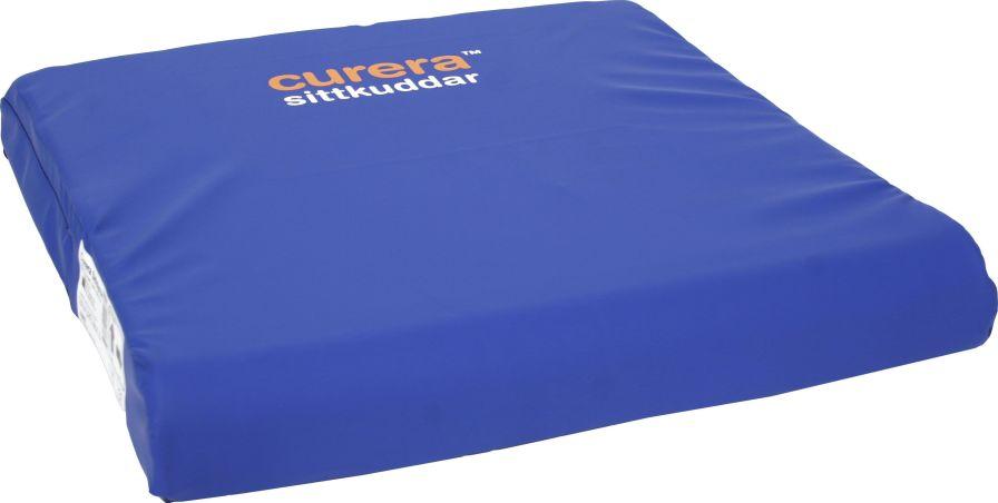 Seat cushion / foam / rectangular CURERA® Care of Sweden