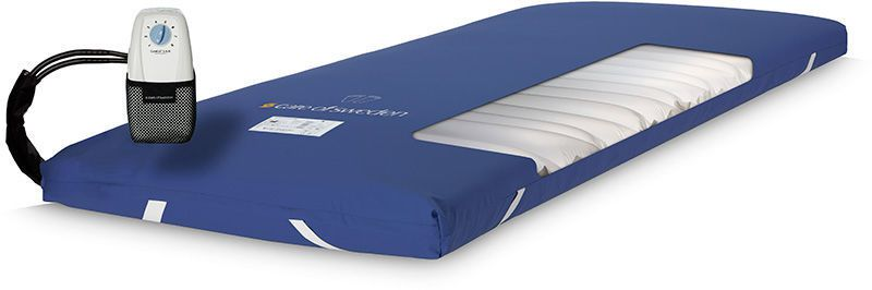 Hospital bed overlay mattress / anti-decubitus / static air CuroCell S.A.M.® Switch Care of Sweden