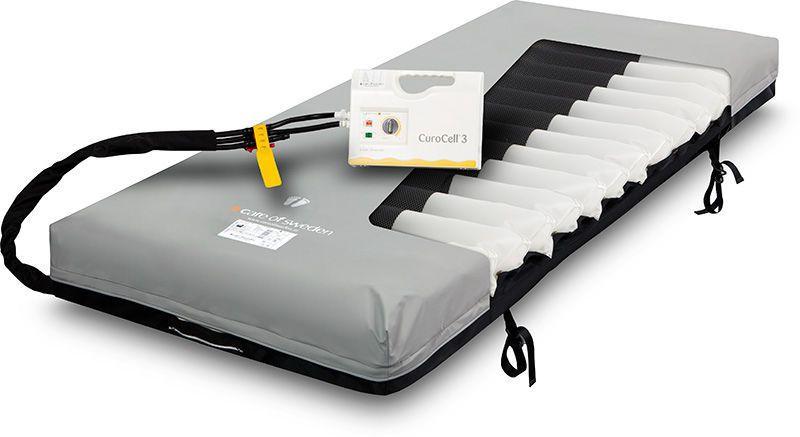 Hospital bed mattress / anti-decubitus / foam / alternating pressure CuroCell® 3 CX19 Care of Sweden