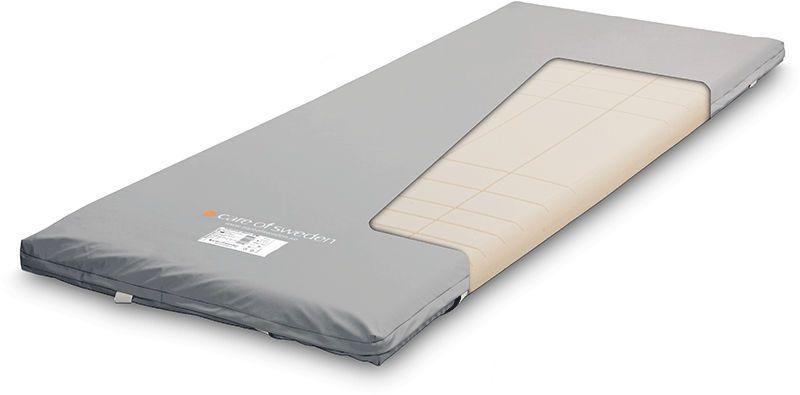 Anti-decubitus overlay mattress / for hospital beds / foam OPTIMAL 5ZON BM Care of Sweden