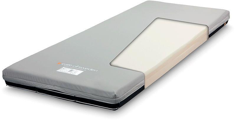 Hospital bed mattress / anti-decubitus / foam / multi-layer Optimal Solett Care of Sweden