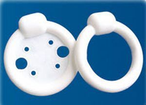 Ring vaginal pessary / without support / with knob RK0, RK7 Panpac Medical Corp.