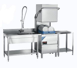 Hood dishwasher / for healthcare facilities JLA Breeze JLA