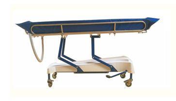 Hydraulic shower trolley / height-adjustable PRATIC'DOUCHE Somethy