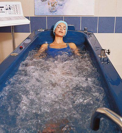 Whole body water massage bathtub CELESTE HARMONIE Somethy