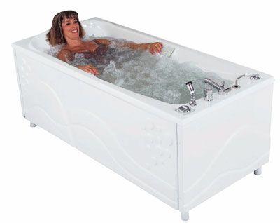 Whole body water massage bathtub THERMALINE Somethy
