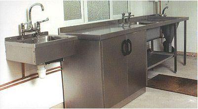 Mortuary washing unit Morquip