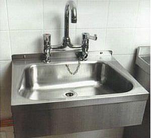 Stainless steel sink Morquip