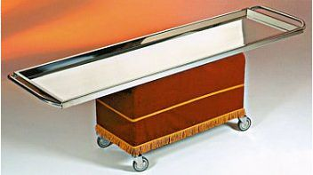 Mortuary stretcher / stainless steel Morquip