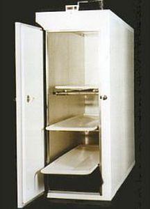 3-body refrigerated mortuary cabinet Morquip