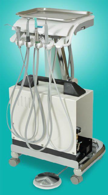 Mobile dental delivery system VE-4 D.B.I. AMERICA