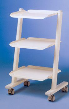 Medical device trolley / 3-tray IP Trolley S IP Division GmbH