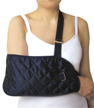 Arm sling with waist support straps / human 3410, 3411 Arden Medikal