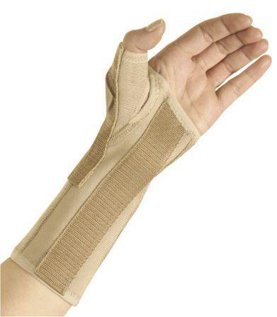 Wrist orthosis (orthopedic immobilization) / thumb orthosis / immobilisation 4320 MANUCARE PLUS Arden Medikal