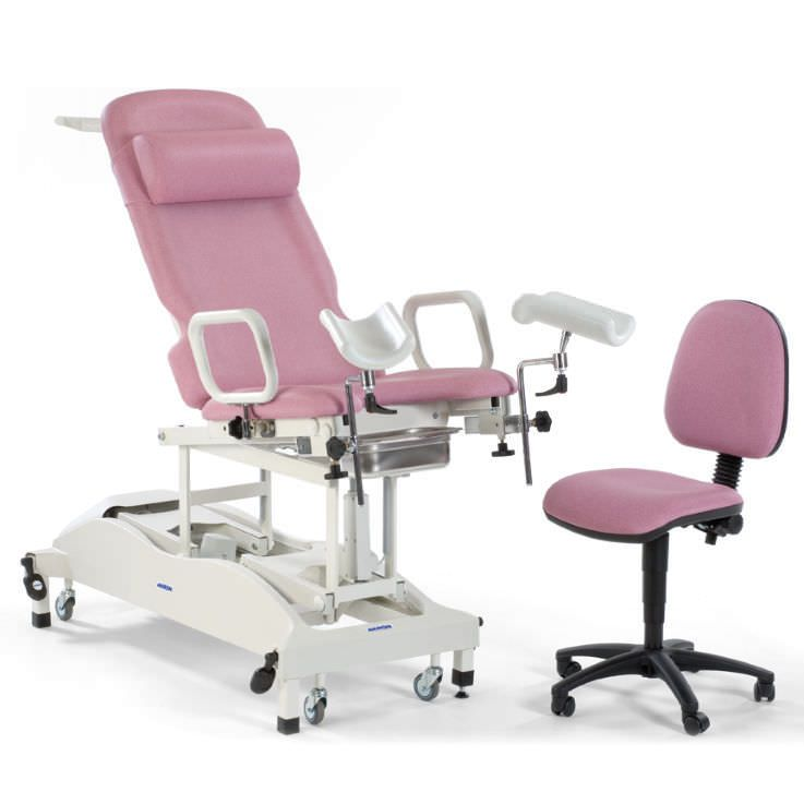 Gynecological examination table / electrical / height-adjustable / on casters STREAMLINE™ Gynae 2 Akron