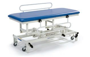 Hydraulic examination table / height-adjustable / on casters / 1-section STREAMLINE™ Changing Table Akron