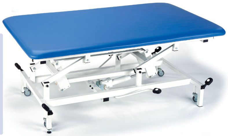Electrical massage table / on casters / height-adjustable / 1 section Mat Table Akron