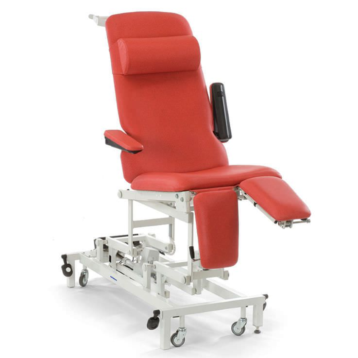 Electrical examination table / height-adjustable / on casters / 3-section STREAMLINE™ General Purpose Couch- GP1 Akron