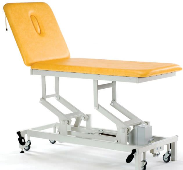 Hydraulic massage table / on casters / height-adjustable / 2 sections STREAMLINE™ Popular Akron