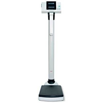 Bariatric patient weighing scale / electronic / column type / with BMI calculation Magnatek Enterprises