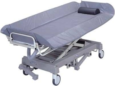 Electrical shower trolley / height-adjustable / bariatric Magnatek Enterprises