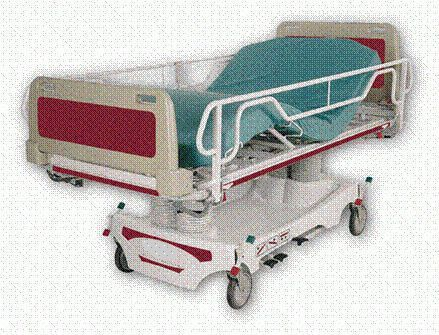 Bariatric stretcher trolley / height-adjustable / hydraulic / 3-section Magnatek Enterprises