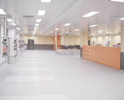 Recovery room / modular HT Labor + Hospitaltechnik