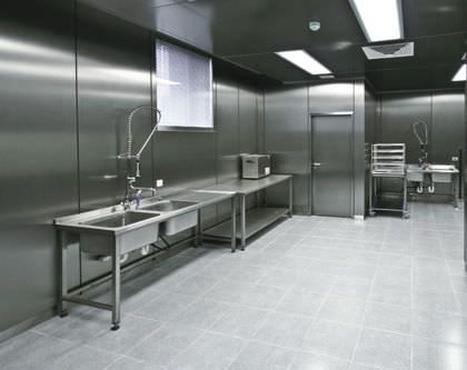 Wet bench stainless steel HT Labor + Hospitaltechnik