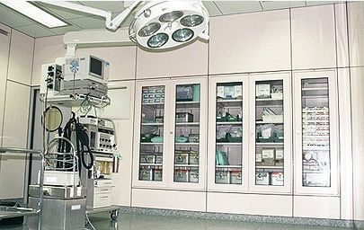 Medical cabinet / operating room HT Labor + Hospitaltechnik