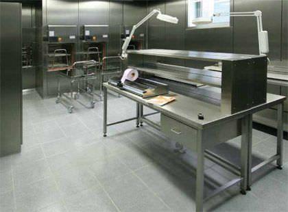 Sterilization room / modular HT Labor + Hospitaltechnik