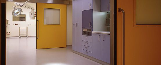 Surgical preparation room / modular HT Labor + Hospitaltechnik