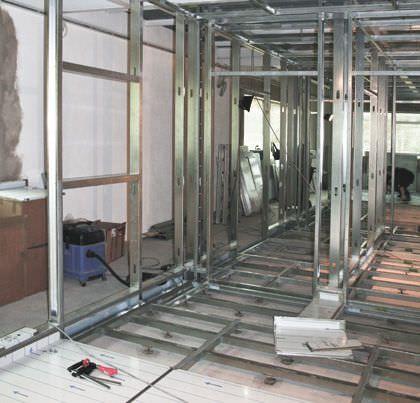 Laboratory room / modular BSL4 HT Labor + Hospitaltechnik