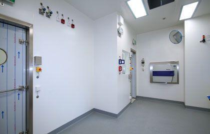 Laboratory room / modular HT Labor + Hospitaltechnik