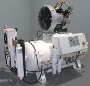Medical air compression system / piston / lubricated HOSPITAIR® 1 MIL'S