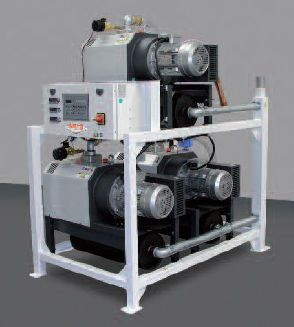 Medical vacuum system / rotary claw / oil-free HOSPIVAC® V MIL'S
