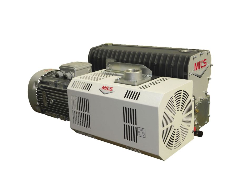 Medical vacuum pump / rotary vane / lubricated EVISA MIL'S