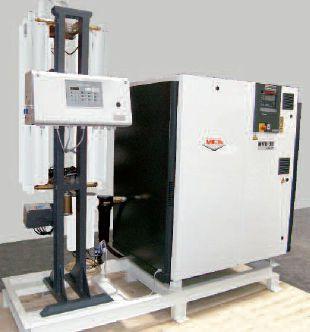 Medical air compression system / screw / lubricated 11 bar | HOSPITAIR® SKID SCREW MIL'S